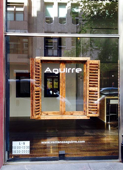 Nueva tienda de exposicion Ventanas Aguirre